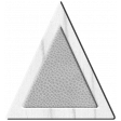 Tea Party Wood Leather Triangle 4 Template