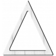 Tea Party Wood Triangle Template