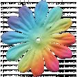Raindrops & Rainbows Mini kit - Flower 1