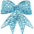 Unicorn Tea Party Element - Bow - Blue