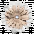 Unicorn Tea Party Element - Layered Flower 3