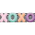 Seriously Sweet Element - Felt XOXO