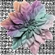 Seriously Sweet Element - Flower - Rainbow