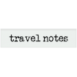 Kenya Elements vellum label travel notes