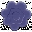 Easter Elements -Rubber Flower Purple