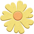 Food Day Collab BBQ chipboard flower 2