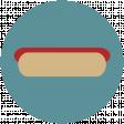 Food Day Collab BBQ circle hot dog