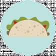 Food Day Collab Taco circle taco