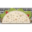 Food Day Collab Taco felt taco