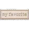 Scraps Bundle 4 Elements - My Favorite