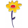 Good Vibes - Enamel Flower 5