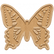 Seriously Butterflies Elements - Wood Butterfly 04