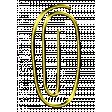 Number Clip Gold 0