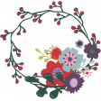Day of Thanks Print Kit - Floral Wreath