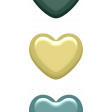 Day of Thanks Elements - Enamel Hearts