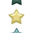 Day of Thanks Elements - Enamel Stars