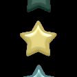 Day of Thanks Elements - Enamel Stars