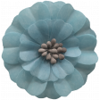 Day of Thanks Elements - Blue Flower