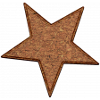Christmas Cork Piece Star 1