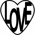 Valentine's Cut Files - Love Heart