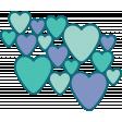 Valentine's Clip Art - Hearts 2