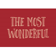 Home For The Holidays Elements - Label Wonderful