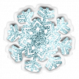 Baby's First Christmas Elements - Sticker Snowflake