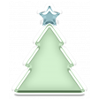 Baby's First Christmas Elements - Sticker Tree