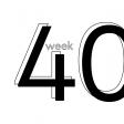 Weekly Pocket Card 4x4 Week 40