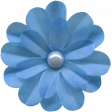 Love Knows No Borders - Flower Blue