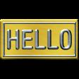 City Bicycle Mini Kit #3 - Sign-Hello