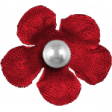 Granny Punk Elements - Flower Pear Red
