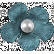 Granny Punk Elements - Flower Pearl Blue