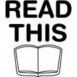 A Mug & A Book Cut Files - Read This