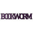 A Mug & A Book Elements - Sticker Bookworm