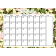 Flower Power Calendars - My Garden 5x7