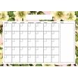 Flower Power Calendars - My Garden A4 Blank
