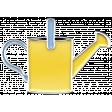 Flower Power Elements Kit - Enamel Wateringcan 1