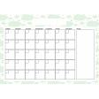 The Good Life May Calendar A4 Blank