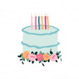 The Good Life - June Birthday Elements - Birthday Circle 1