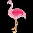 The Good Life - June Elements - Enamel Flamingo 2