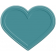 The Good Life - June Elements - Rubber Heart Teal
