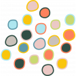 The Good Life: July Color Stamps - Dots