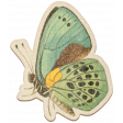 The Good Life July Elements - Chipboard Butterfly 4 Color