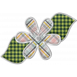 The Good Life July Elements - Flower 6 Plaid