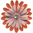 The Good Life July Elements - Flower 9 Coral
