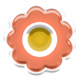 The Good Life July Elements - Sticker Flower 2
