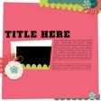 Layout Templates Kit #35 - Layout 3