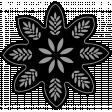 Flower Templates Kit #32 - Flower 04a