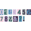 The Good Life: August - Mixed Colored Numbers